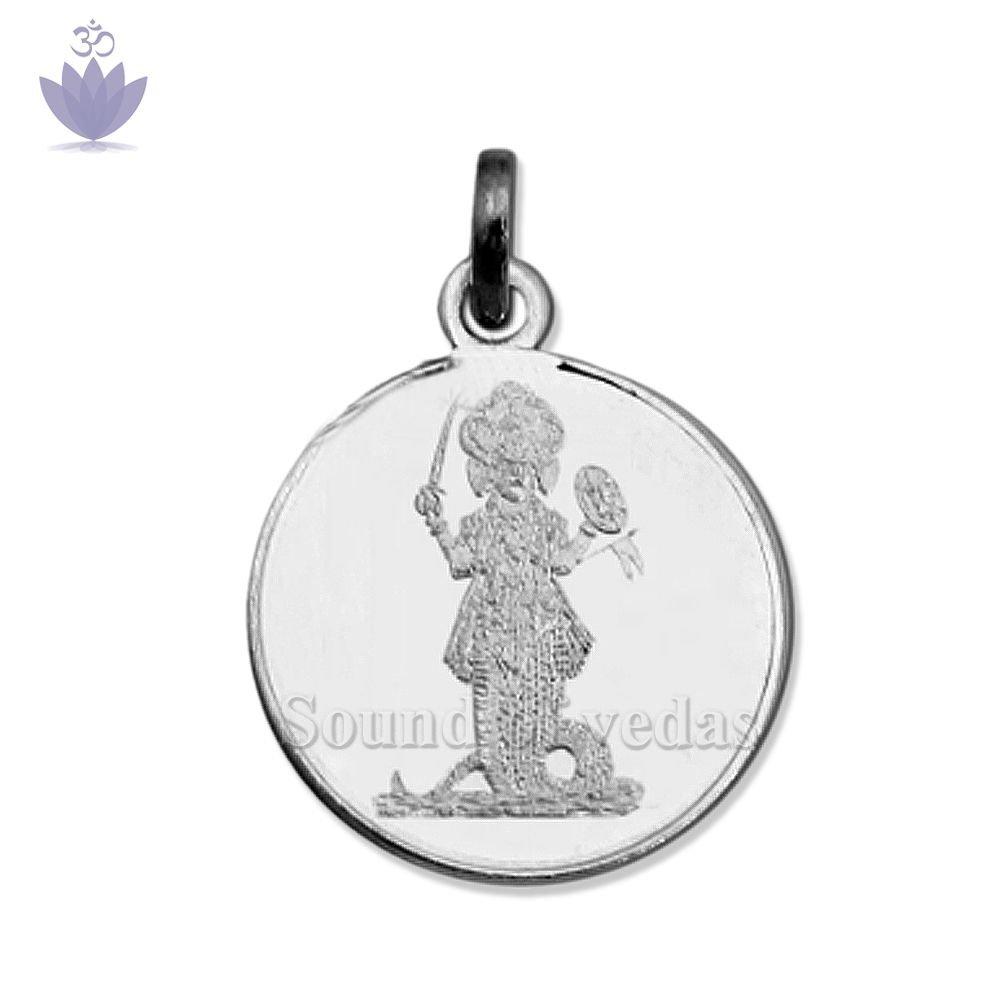 Numeric Ketu Yantra Pendant in Silver