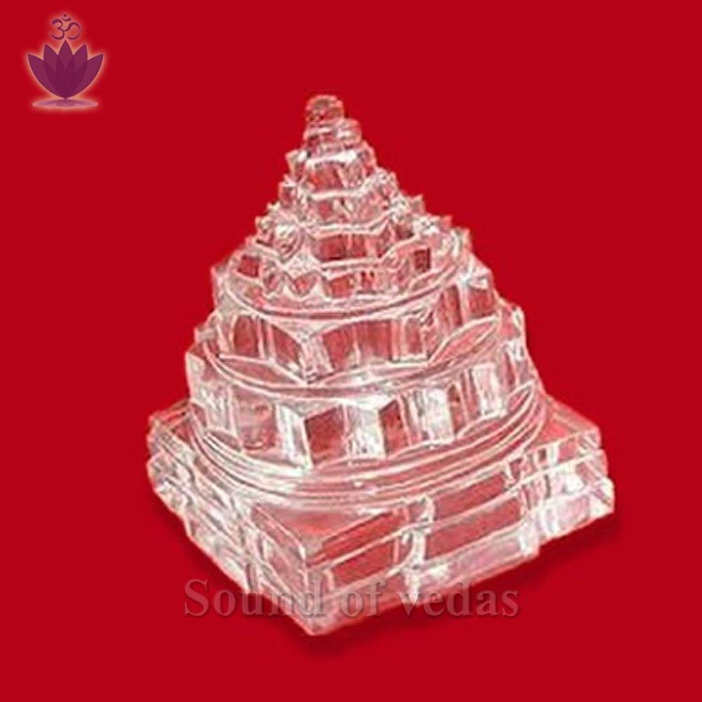 Original crystal shree yantra