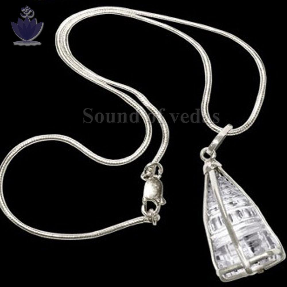 Crystal Shree yantra locket