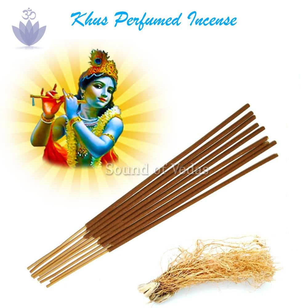 Khus Fragrance Agarbatti Sticks