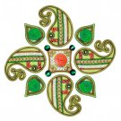 Shubh Laabh Rangoli with Diyas Online Store in USA/UK/Europe