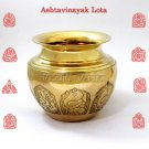 Ashtavinayak Lota in Brass  Buy Online in USA/UK/Europe