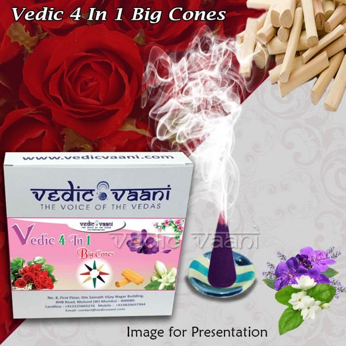 Vedic 4 In 1 Big Cones    Online Store in USA/UK/Europe