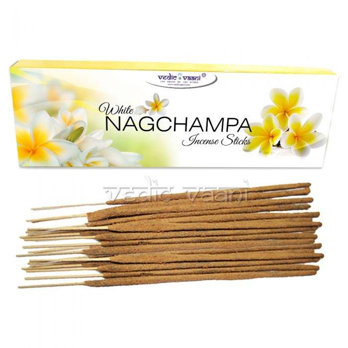 White Nagchampa Incense Sticks Buy Online in USA/UK/Europe