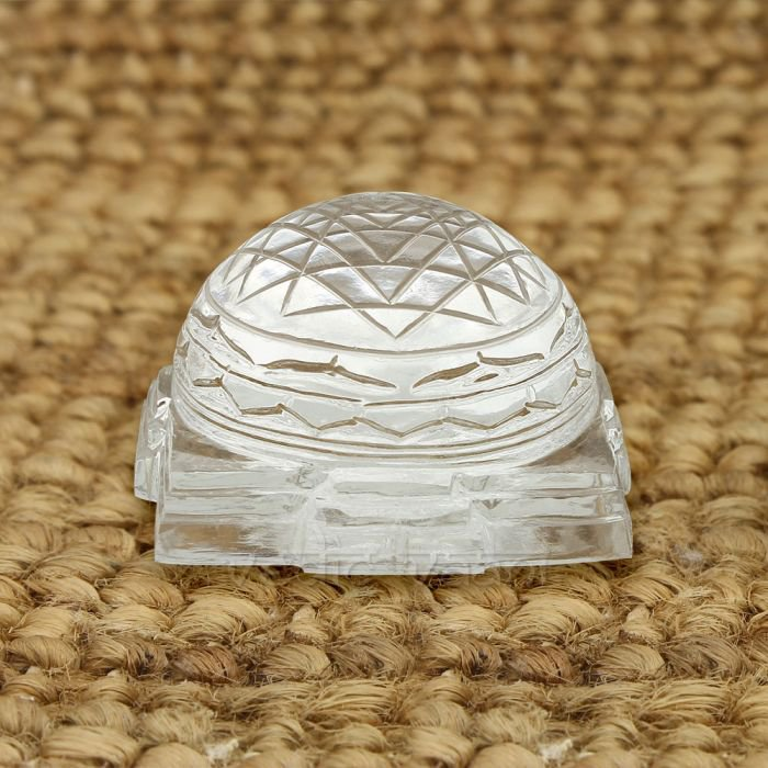 Shree Yantra Dome in Crystal Gemstone  Buy Online in USA/UK/Europe