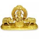 Goddess Gajalakshmi Statue in Brass  Buy Online in USA/UK/Europe