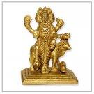 Small Dattatreya Brass Sculpture  Buy Online in USA/UK/Europe