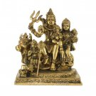 Shiv Parivar Statue in Brass with Antic Finish Buy Online in USA/UK/Europe