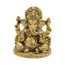 Lord Ganesh Statue in Brass  Buy Online in USA/UK/Europe