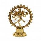 Lord Shiva Natraj Statue in Brass Buy Online in USA/UK/Europe