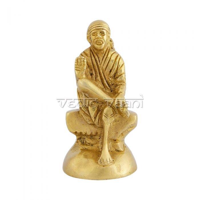 Sai Baba Idol in Brass Buy Online in USA/UK/Europe