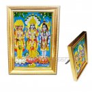 Brahma Vishnu Mahesh in Golden Frame   Buy Online in USA/UK/Europe