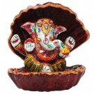 Lord Ganesha in Shell Hand Painted  Buy Online in USA/UK/Europe