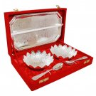Puja Tray With Bowls Spoons Set  Buy Online in USA/UK/Europe