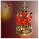 Siddhivinayak Ganesha (Gold Polish)   Buy Online in USA/UK/Europe