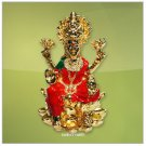 Laxmi on Lotus ( Gold Polish ) Buy Online in USA/UK/Europe