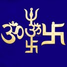 Symbol for Protection of OM / Trishul / Swastik Powerful Lucky Charm