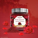 Vedic Vaani Natural Fresh Rose Flower Flavor Fragrance Incense Powder for Puja