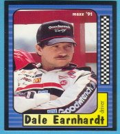 1991 Maxx Racing card #3 Dale Earnhardt