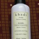 Khadi Lavender Herbal Fairness Lotion with Shea Butter & Paraben Free 210 ml
