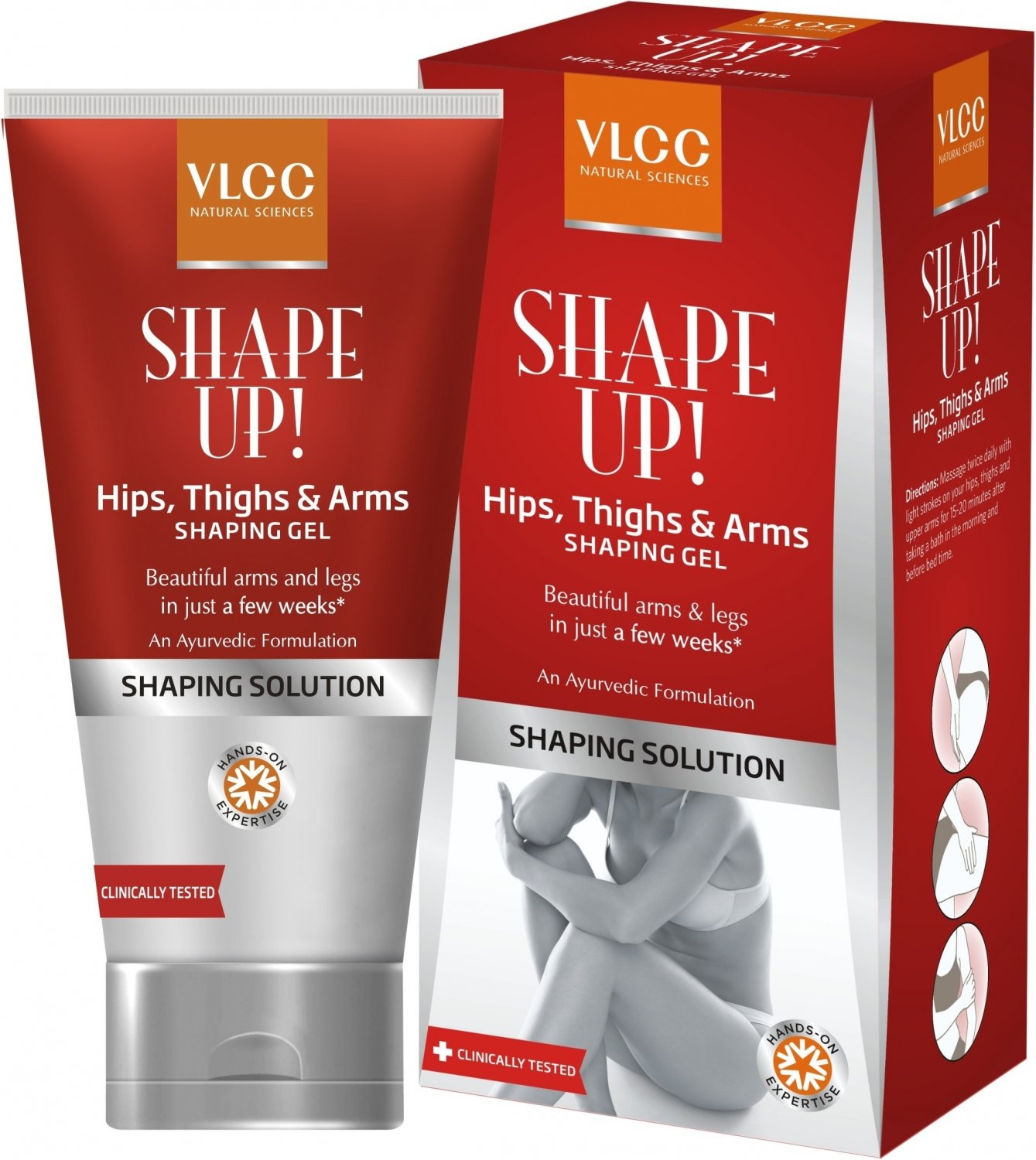 Vlcc Shape up Hips, Thighs & Arms Shaping Gel 100 gms
