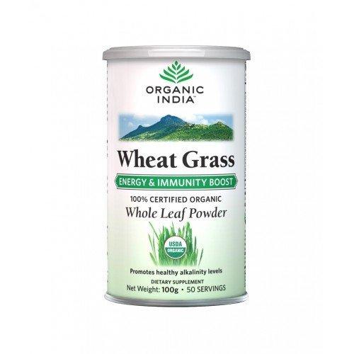 Organic India Wheat Grass 100gms
