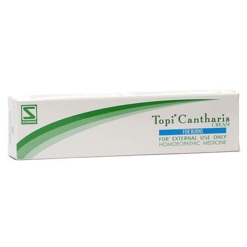 Topi Cantharis cream from Schwabe Homeopathy 50 gms