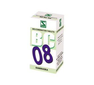 Bio Combination 8 for Diarrhoea 40 gms- Schwabe Homeopathy