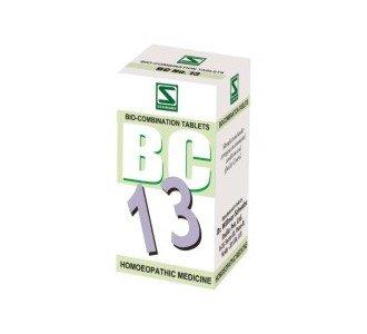 Bio Combination 13 for Leucorrhoea 40 gms- Schwabe Homeopathy