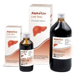 ALPHA-LIV for Liver 100 ml Schwabe Homeopathy