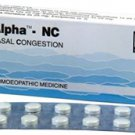 Alpha NC for Decongestion 80 Tablets Schwabe Homeopathy