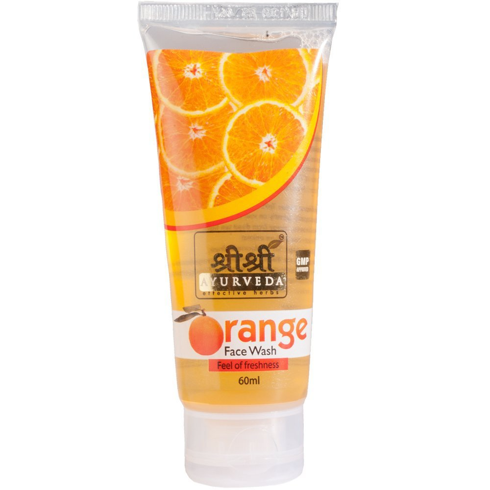 Sri Sri Ayurveda Orange Face Wash, 120ml