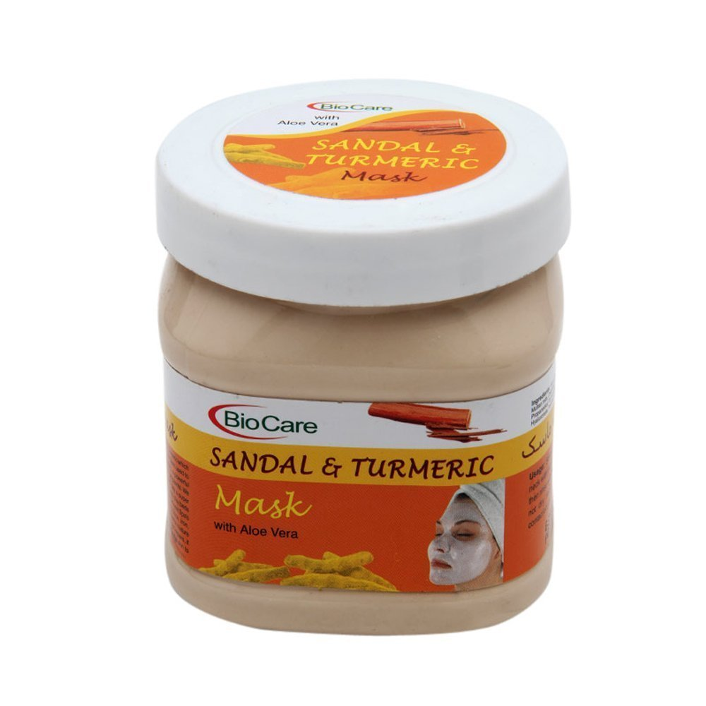 BioCare SANDAL & TURMERIC Mask with Aloe Vera Extracts 500 ml