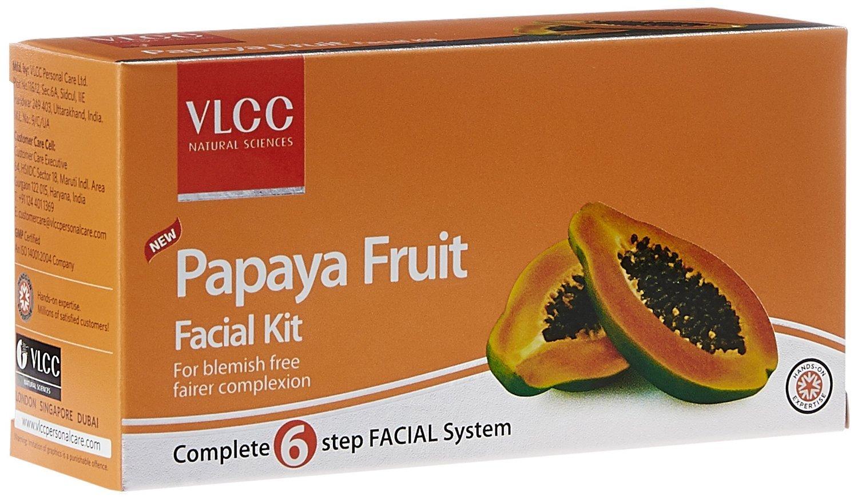 VLCC Papaya Fruit Facial Kit, 56.6g