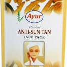 Ayur Anti Sun Tan Face Pack 100Gm
