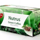 Nutrus Green Coffee Natural Fat Burner Sachets Tea Bags 20
