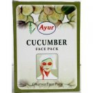 Ayur Cucumber Face Pack 100gm pack