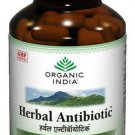 Organic India Herbal Antibiotic 60 Capsules Bottle