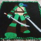 handmade fleece blanket ninja turtles blanket