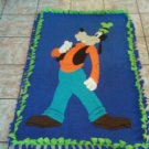 handmade fleece blanket goofy toddler size blanket