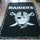 handmade fleece blanket inspired raiders adult size