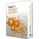 TrustPort Internet Security 2018 1 Yr 1 Device Windows Only Download Worldwide Use