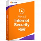 Avast Internet Security 2018 1 Yr 5 Device Windows Only Download Worldwide Use
