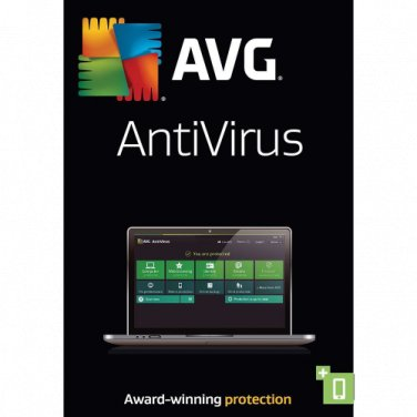 AVG AntiVirus 2018 1 Yr 3 Devices Windows Only Download Worldwide Use