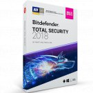 Bitdefender Total Security 2018 1 Yr 5 Device Windows Only Download Worldwide