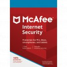 McAfee Internet Security 1 Yr Unlimited Device Windows Only Download Worldwide Use