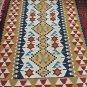 4X6 Amazing Hand Knotted Turkish Vegetable Dye Wool Oriental Rug Custom Kilim