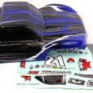 Redcat Racing ATV155-BL 1/10 Short Course Truck Body New Black and Blue ~