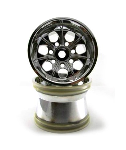 Redcat Racing 89106c Chrome Wheels with 17mm Hex