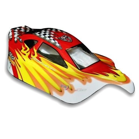 Redcat Racing 10704 1/10 Buggy Body Red and Yellow 10704